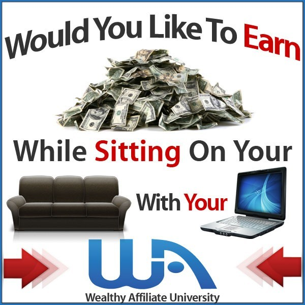 Build a Website in Less Than a Minute, wealthy affiliate, work from home, learn and earn